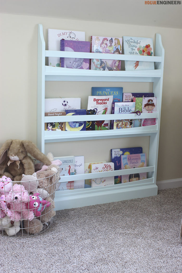 Best ideas about DIY Kids Bookcase . Save or Pin DIY Childrens Bookshelf Plans Rogue Engineer1 Kreg Now.