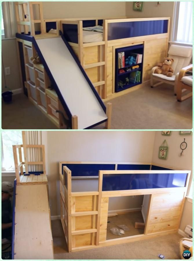 Best ideas about DIY Kids Bunk Bed . Save or Pin DIY Kids Bunk Bed Free Plans [Picture Instructions Now.