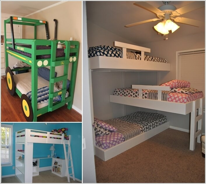 Best ideas about DIY Kids Bunk Bed . Save or Pin 10 Cool DIY Bunk Bed Designs for Kids Now.
