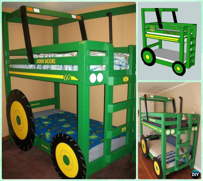 Best ideas about DIY Kids Bunk Bed . Save or Pin 56 Kids Bunk Bed Plans Kids Loft Bed Plans Bunk Beds Now.