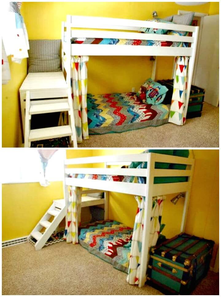 Best ideas about DIY Kids Bunk Bed . Save or Pin 22 Low Bud DIY Bunk Bed Plans to Upgrade Your Kids Room Now.
