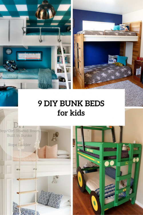 Best ideas about DIY Kids Bunk Bed . Save or Pin 9 Functional And Creative DIY Bunk Beds For Kids Shelterness Now.