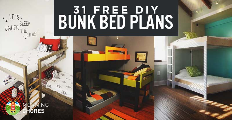 Best ideas about DIY Kids Bunk Beds . Save or Pin 31 DIY Bunk Bed Plans & Ideas that Will Save a Lot of Now.
