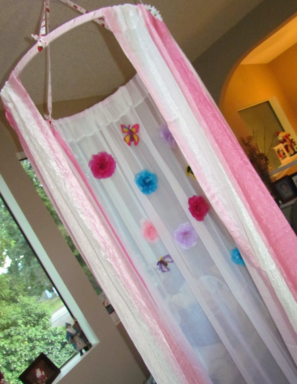Best ideas about DIY Kids Canopy . Save or Pin Learn To Grow DIY Children s Canopy Play Tent Now.