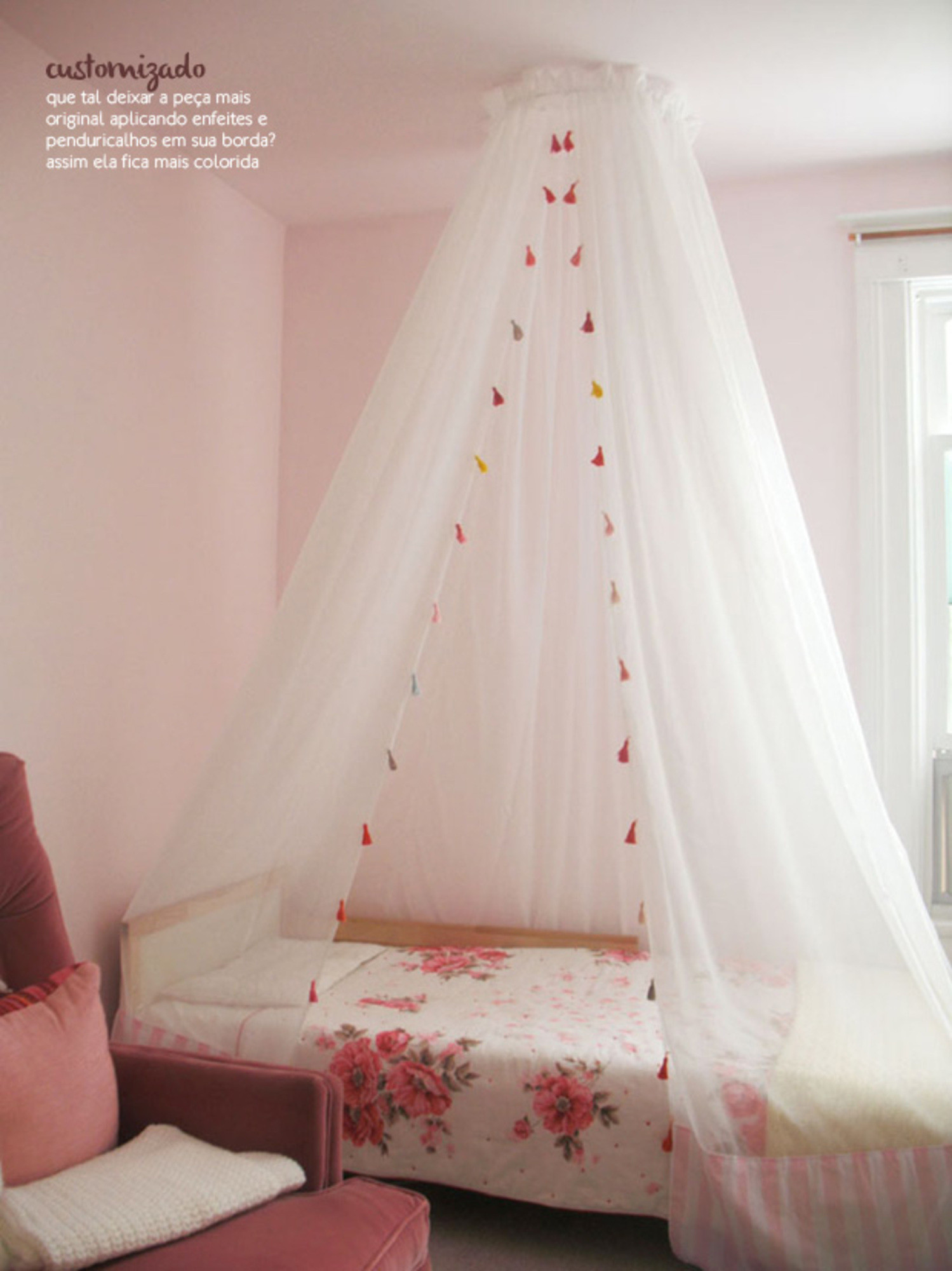 Best ideas about DIY Kids Canopy . Save or Pin MOSQUITEIROS DELICADOS Now.