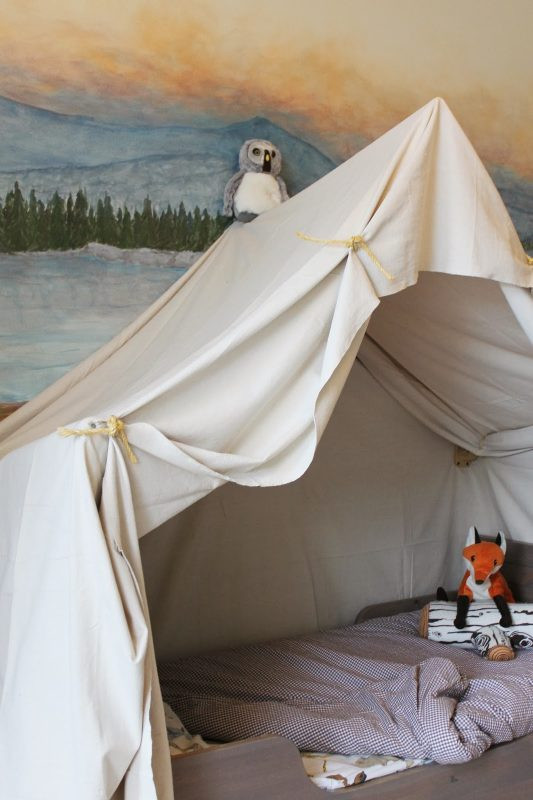 Best ideas about DIY Kids Canopy . Save or Pin Remodelaholic Now.