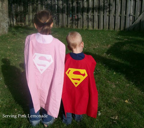 Best ideas about DIY Kids Cape . Save or Pin DIY Superhero Cape For Kids Now.