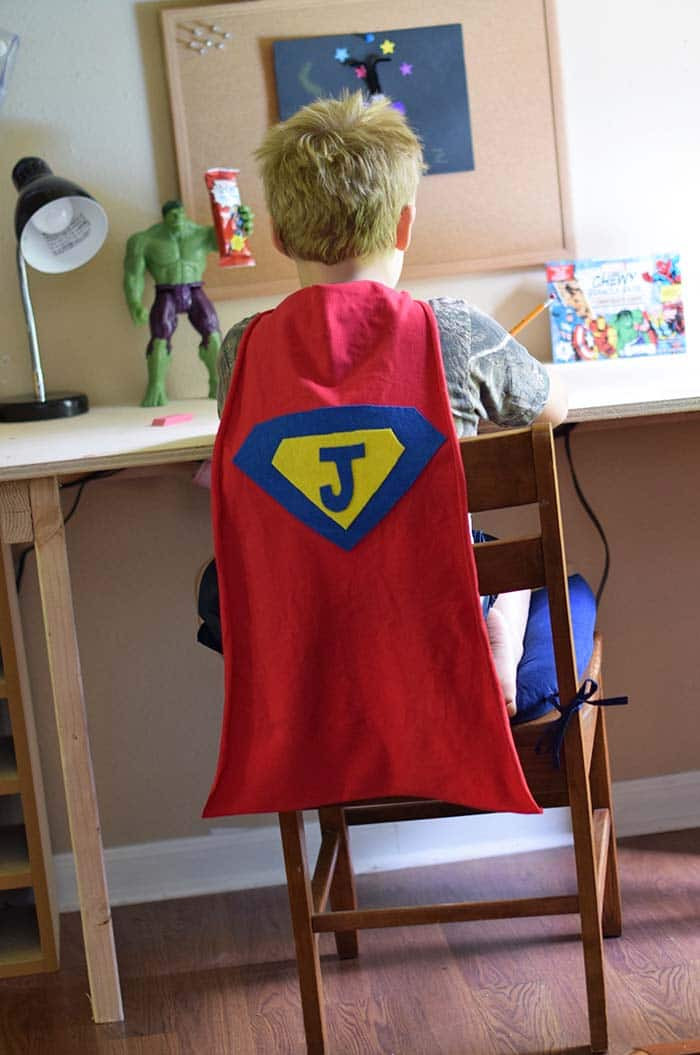 Best ideas about DIY Kids Cape . Save or Pin How to Make an Easy No Sew Superhero Cape Now.