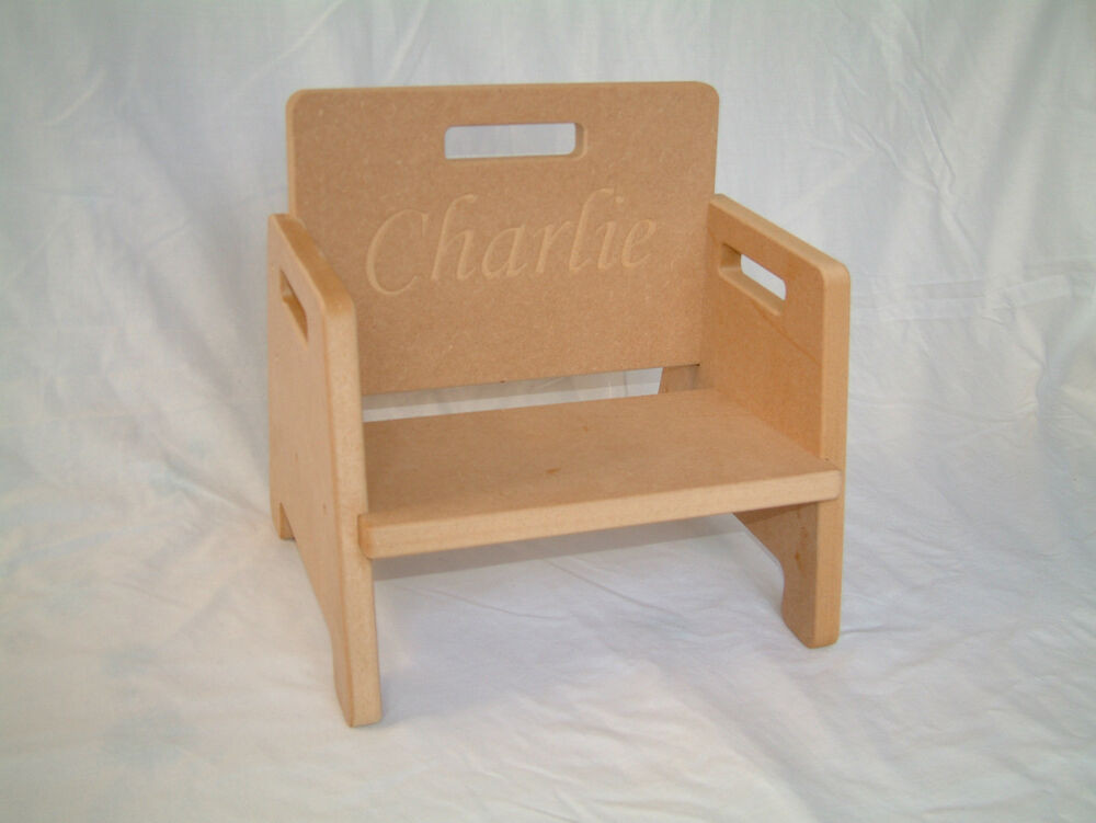Best ideas about DIY Kids Chair . Save or Pin DIY Baby Toddler Chair Personalisable with ANY Text Now.