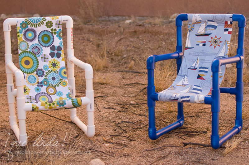 Best ideas about DIY Kids Chair . Save or Pin How to Make Plastic Pipe Toddler Chair DIY & Crafts Now.