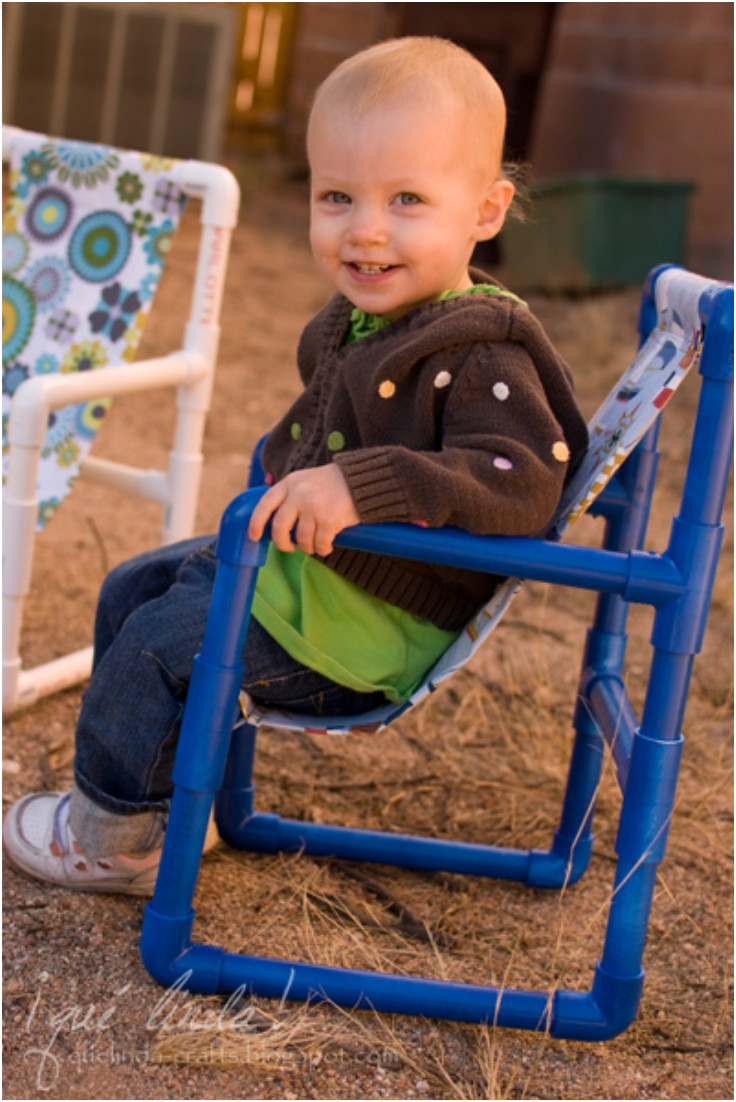 Best ideas about DIY Kids Chair . Save or Pin Top 10 DIY Fun And Useful PVC Pipe Crafts Top Inspired Now.