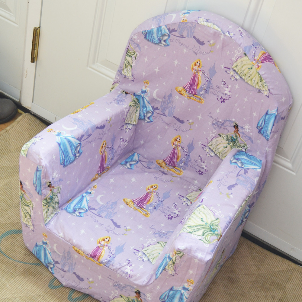 Best ideas about DIY Kids Chair . Save or Pin Sew a New Cover for a Plush Kid's Chair Now.