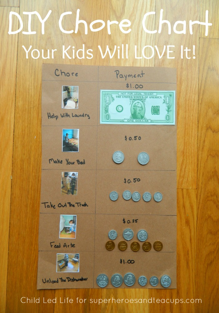 Best ideas about DIY Kids Chore Chart . Save or Pin DIY Chore Chart Now.