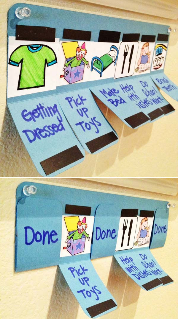 Best ideas about DIY Kids Chore Chart . Save or Pin Lovely DIY Chore Charts For Kids Now.