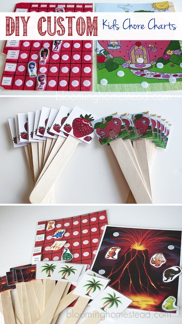 Best ideas about DIY Kids Chore Chart . Save or Pin DIY Kids Chore Charts Part 2 Blooming Homestead Now.