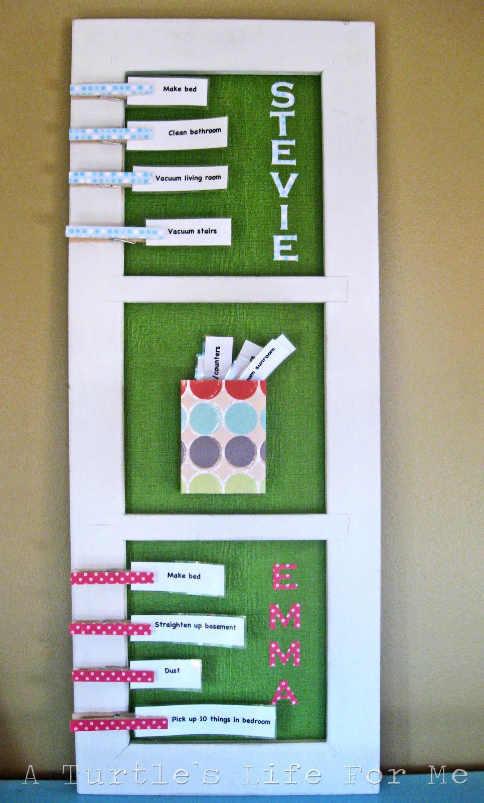 Best ideas about DIY Kids Chore Chart . Save or Pin The Kids Chore Chart A Turtle s Life for Me Now.