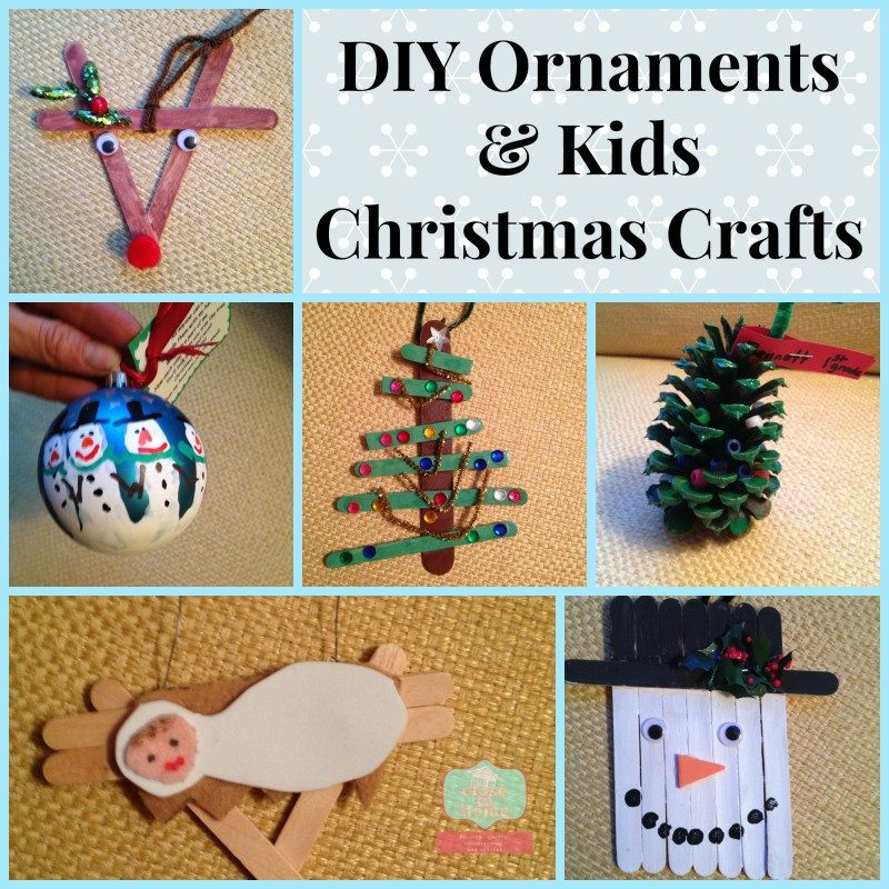 Best ideas about DIY Kids Christmas Ornaments . Save or Pin How to Make DIY Christmas Ornaments with Your Kids Now.