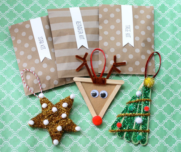 Best ideas about DIY Kids Christmas Ornaments . Save or Pin Christmas DIY Kids Ornaments Evite Now.