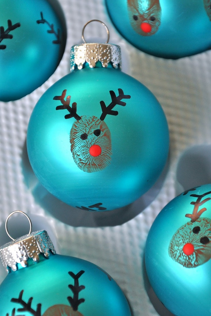 Best ideas about DIY Kids Christmas Ornaments . Save or Pin Top 10 DIY Christmas Ornaments Now.
