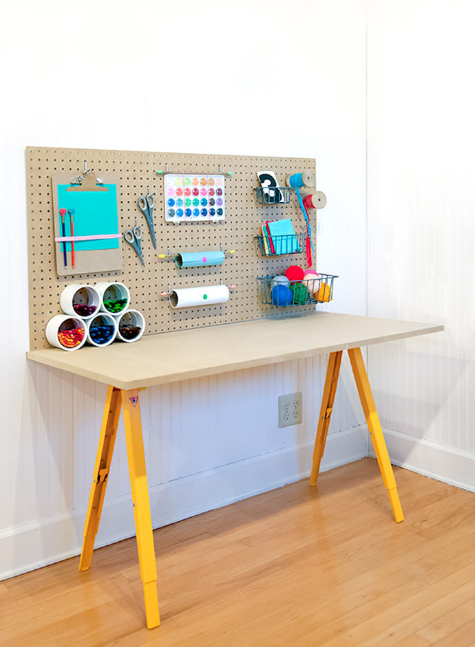 Best ideas about DIY Kids Craft Table . Save or Pin 10 DIY Kids' Desks For Art Craft And Studying Shelterness Now.
