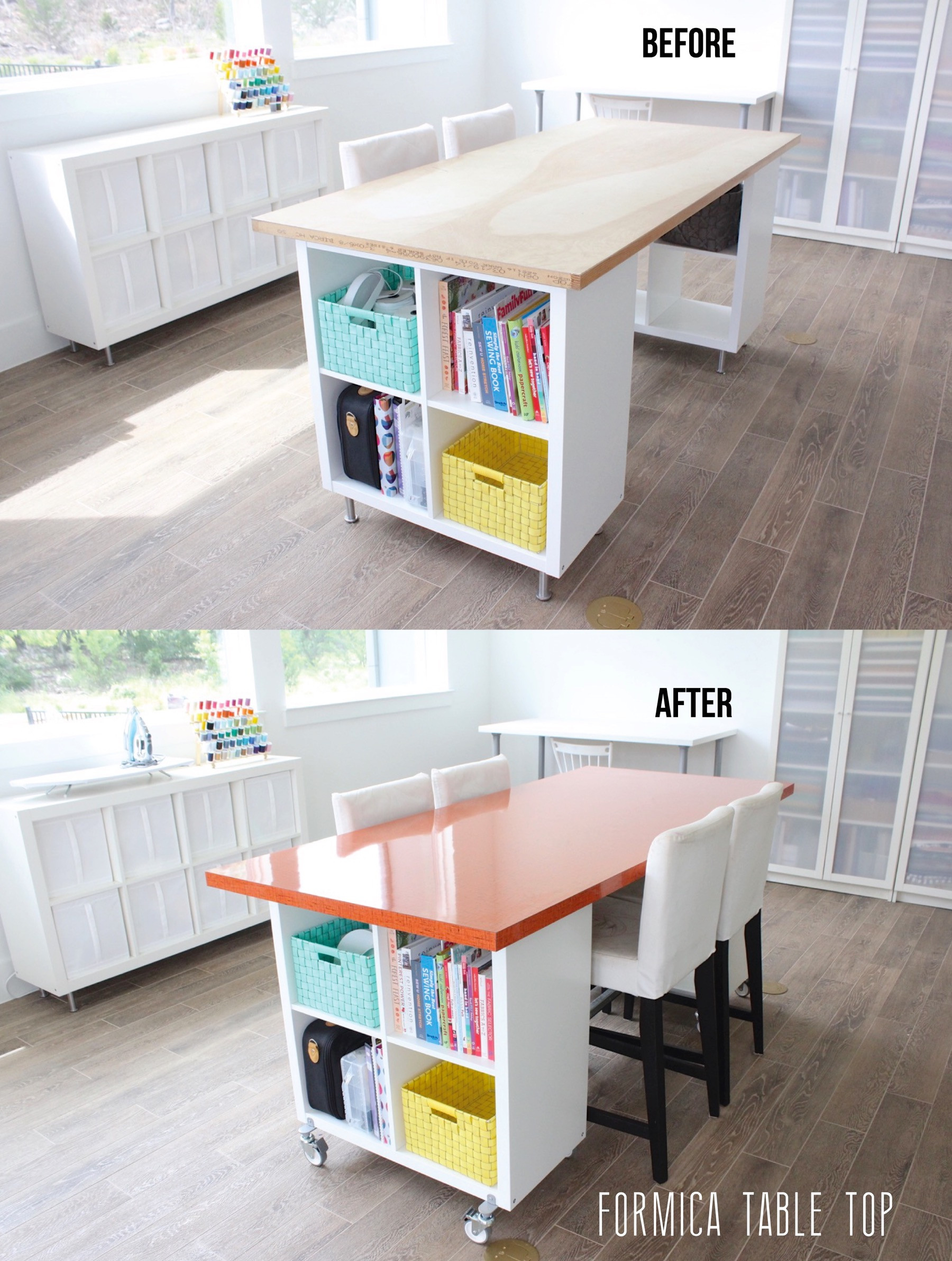 Best ideas about DIY Kids Craft Table . Save or Pin Building a new home the Formica craft table – MADE EVERYDAY Now.