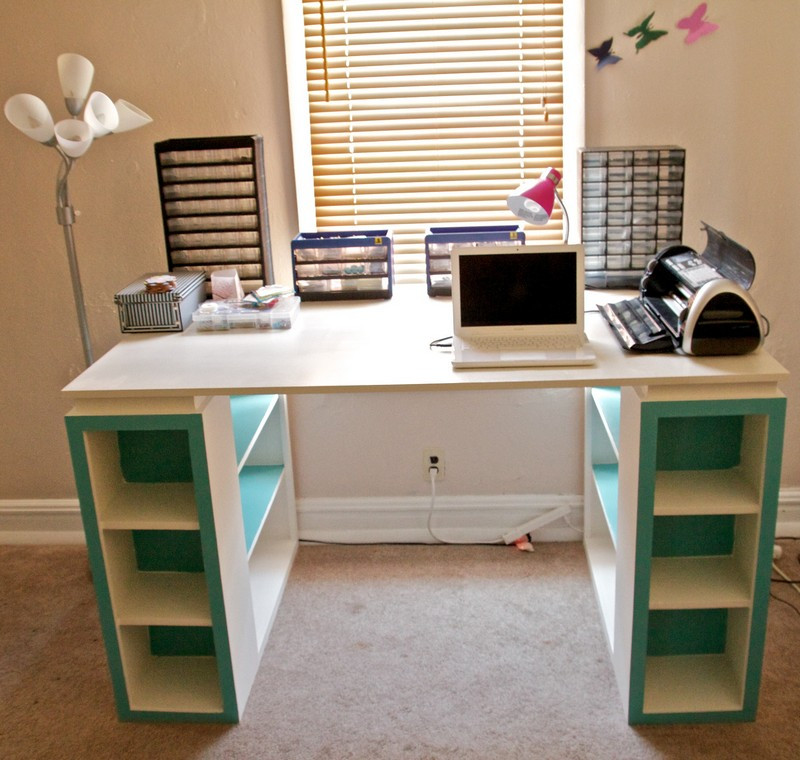 Best ideas about DIY Kids Craft Table . Save or Pin DIY Bookshelf Craft Table Now.