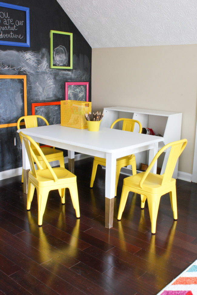 Best ideas about DIY Kids Craft Table . Save or Pin DIY Kids Art Table Erin Spain Now.