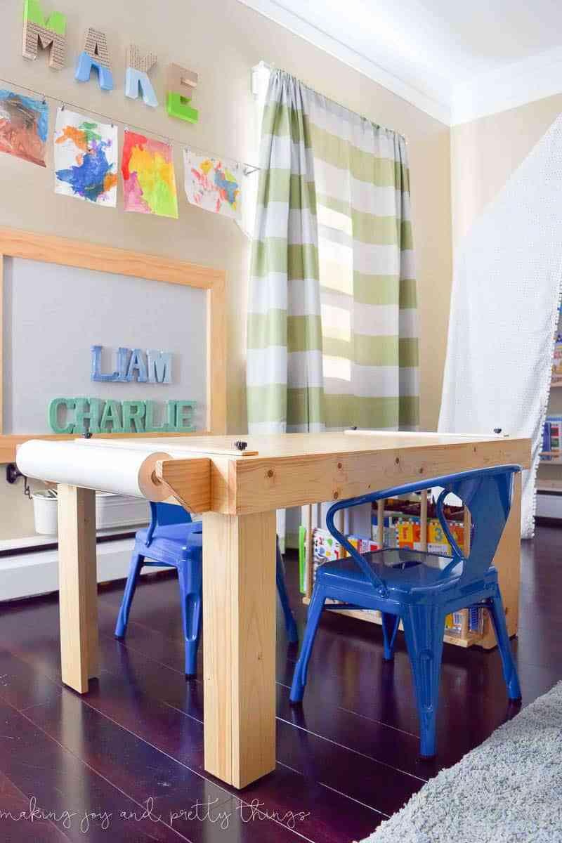 Best ideas about DIY Kids Craft Table . Save or Pin DIY Kid s Craft Table Now.