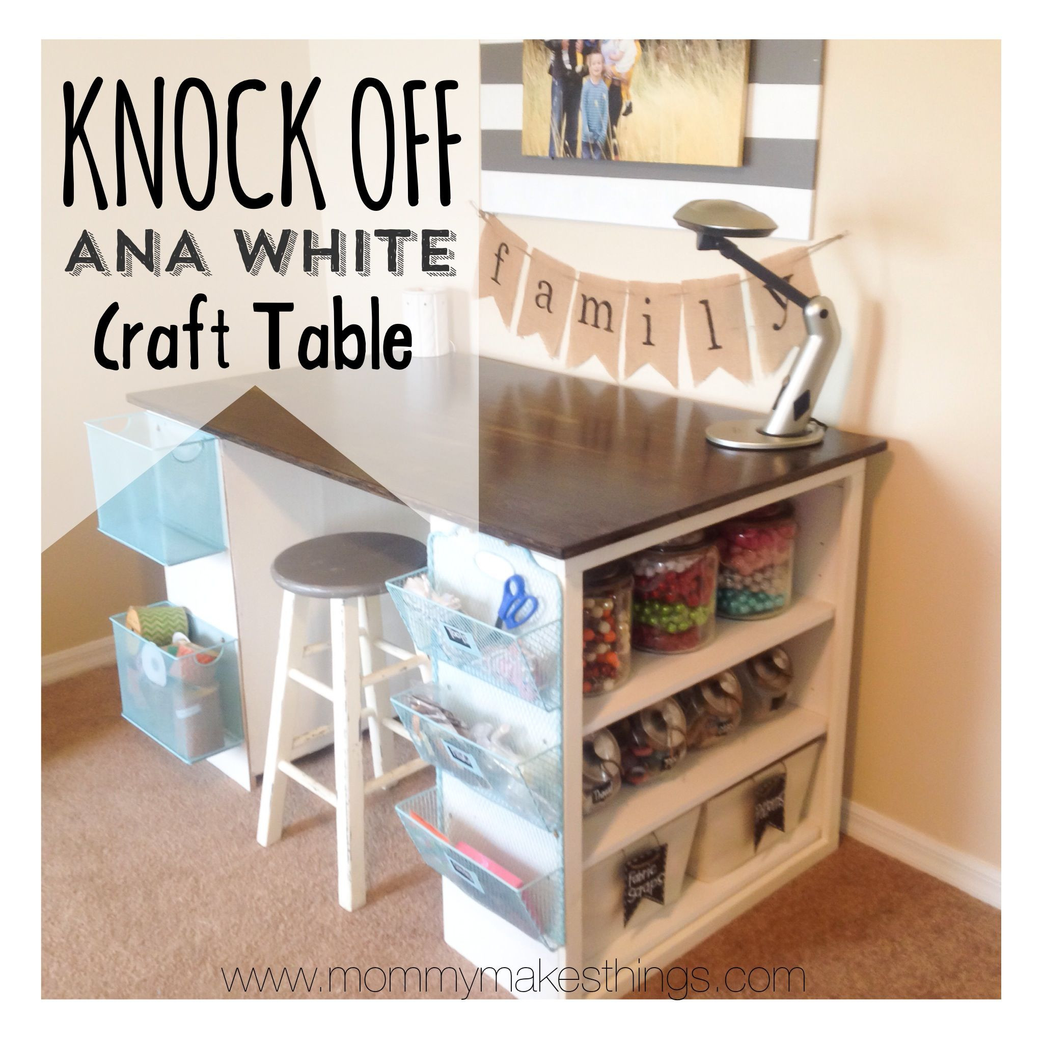 Best ideas about DIY Kids Craft Table . Save or Pin DIY Ana White Craft Table knock off for under $75 By Now.