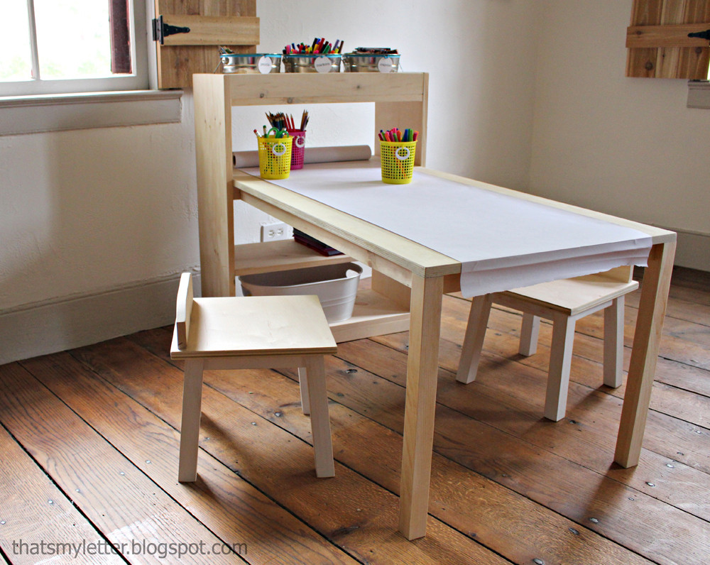 Best ideas about DIY Kids Craft Table . Save or Pin Ana White Now.