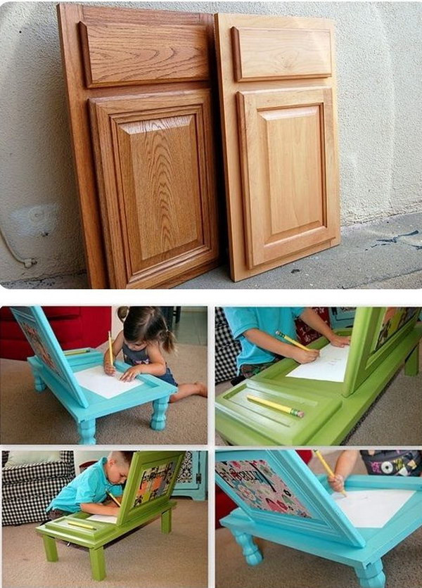 Best ideas about DIY Kids Craft Table . Save or Pin 15 DIY Furniture Makeover Ideas & Tutorials for Kids Hative Now.