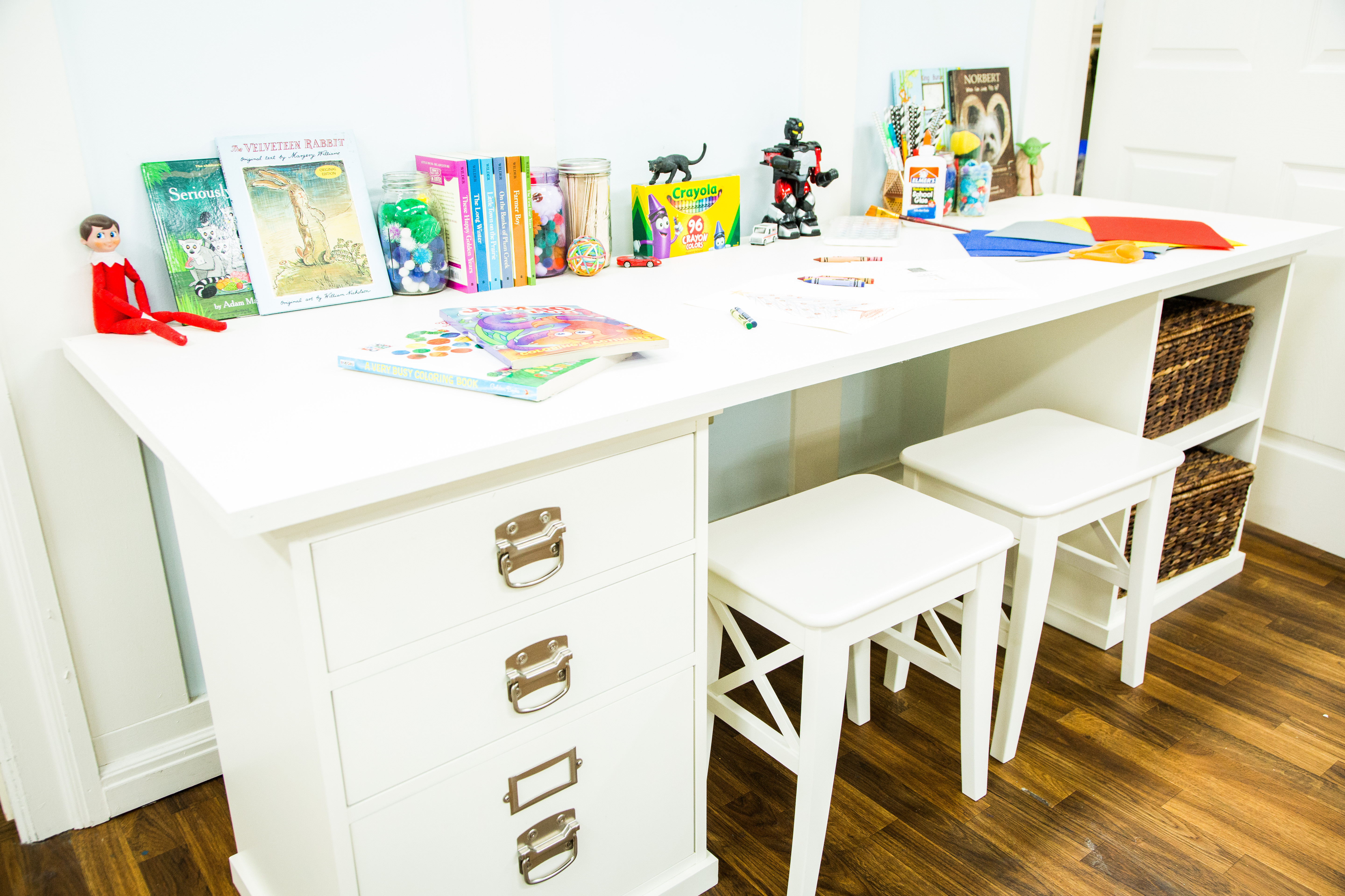 Best ideas about DIY Kids Desks . Save or Pin DIY Kids Craft Table Home & Family Now.