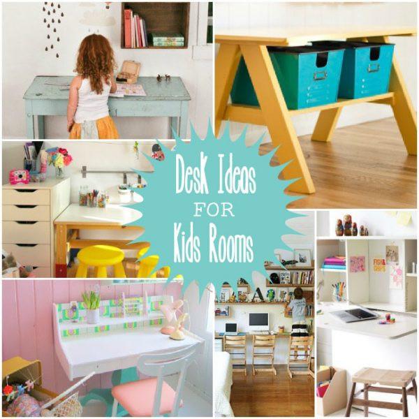Best ideas about DIY Kids Desks . Save or Pin DIY Kids Room Art & Homework Desk Ideas with Storage Now.