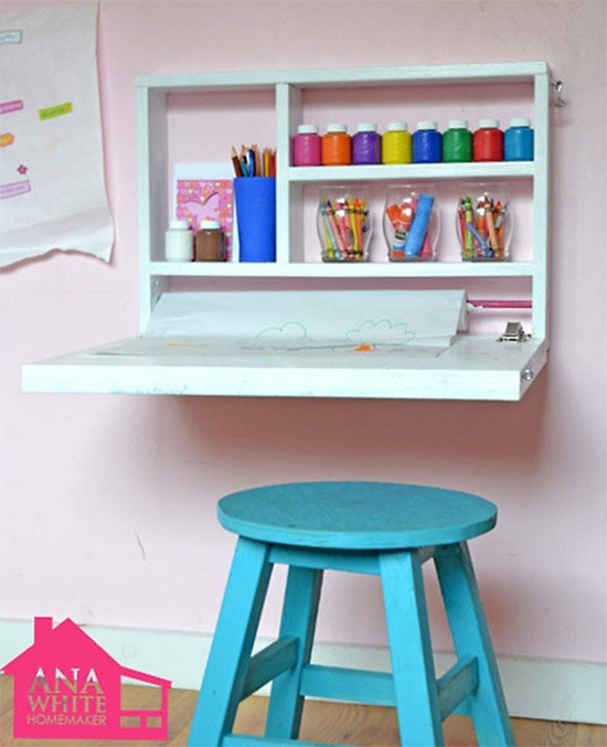 Best ideas about DIY Kids Desks . Save or Pin 12 DIY Ideas for Kids Rooms DIY Home Decor Now.