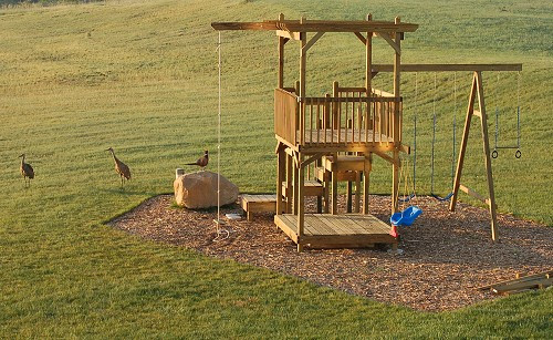 Best ideas about DIY Kids Fort . Save or Pin Build a Backyard Play Structure Now.