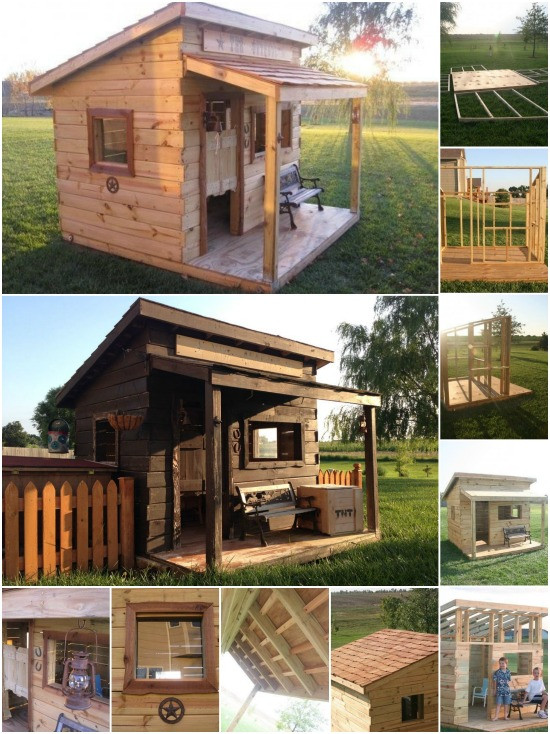 Best ideas about DIY Kids Fort . Save or Pin Genius Woodworking Project Build a Western Saloon Kid s Now.