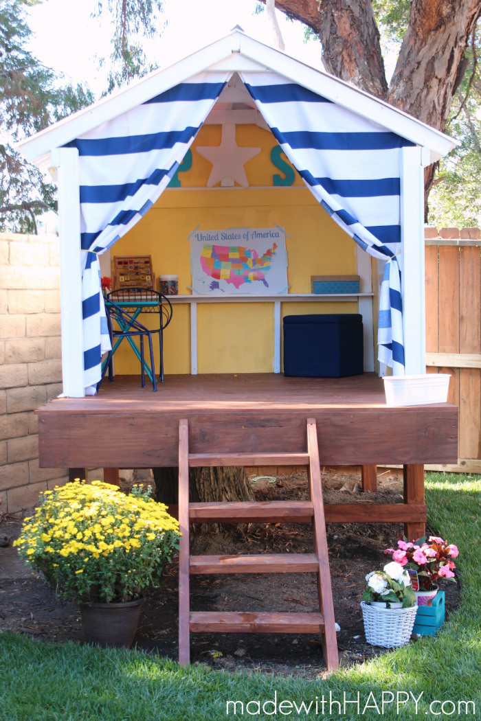Best ideas about DIY Kids Fort . Save or Pin 25 DIY Forts to Build With Your Kids This Summer tipsaholic Now.