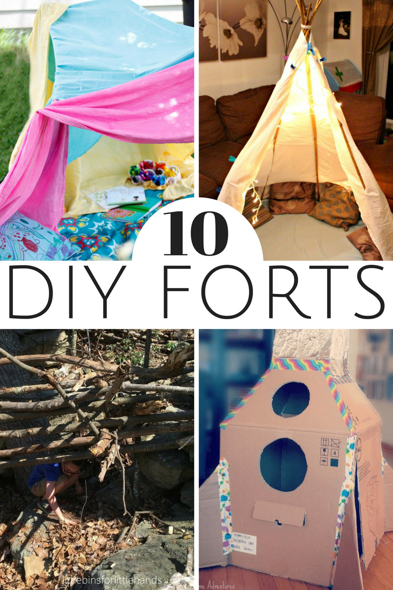 Best ideas about DIY Kids Forts . Save or Pin 10 Fun DIY Forts for Kids Now.