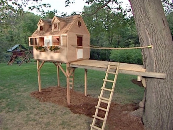 Best ideas about DIY Kids Forts . Save or Pin 33 Simple and Modern Kids Tree House Designs Now.