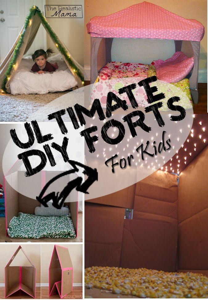 Best ideas about DIY Kids Forts . Save or Pin Ultimate DIY Forts Now.