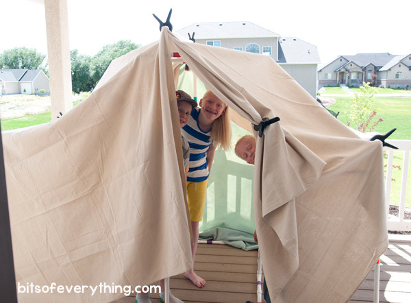 Best ideas about DIY Kids Forts . Save or Pin DIY Fort Kit Bits of Everything Now.
