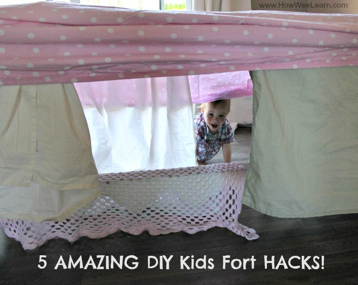 Best ideas about DIY Kids Forts . Save or Pin AMAZING DIY Kids Forts How Wee Learn Now.