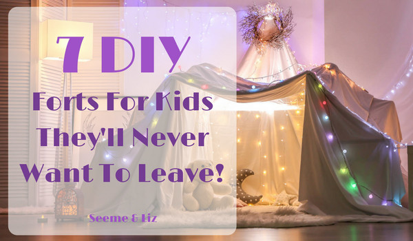 Best ideas about DIY Kids Forts . Save or Pin 7 DIY Indoor Play Forts Kids Will Never Want To Leave Now.