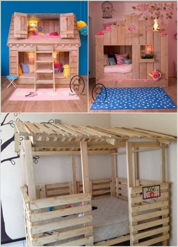 Best ideas about DIY Kids Furniture . Save or Pin Coolest DIY Kids Pallet Furniture Ideas Now.