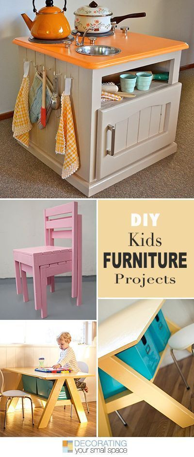 Best ideas about DIY Kids Furniture . Save or Pin DIY Kids Furniture Projects Now.