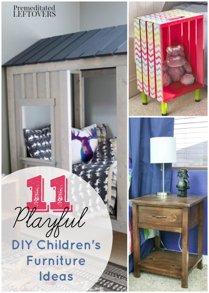 Best ideas about DIY Kids Furniture . Save or Pin 11 DIY Kid s Furniture Projects Now.