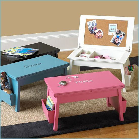 Best ideas about DIY Kids Furniture . Save or Pin This would make a great little area for a child work on Now.