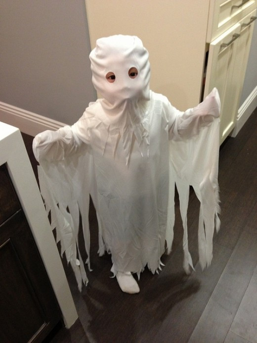 Best ideas about DIY Kids Ghost Costume . Save or Pin Homemade Ghost Costume Ideas Now.