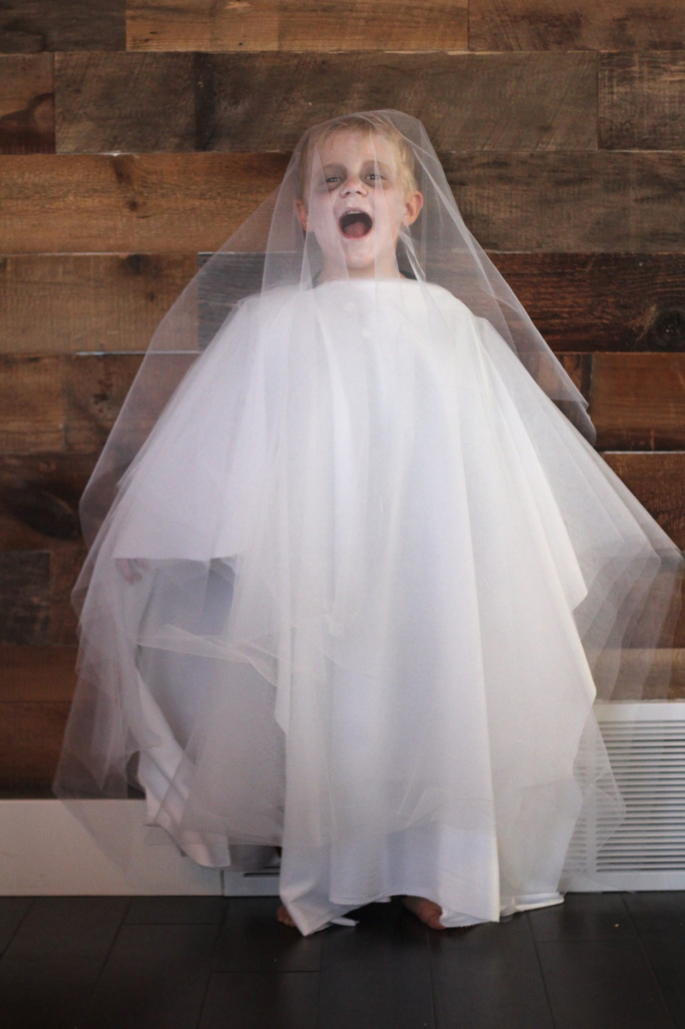 Best ideas about DIY Kids Ghost Costume . Save or Pin Easy Ghost Costume Halloween Lou Lou Girls Now.