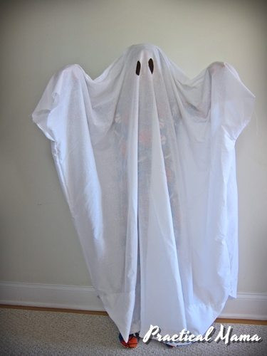 Best ideas about DIY Kids Ghost Costume . Save or Pin Ghost costume for kids DIY Now.
